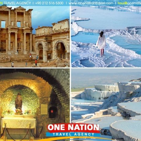 Tour to Ephesus and Pamukkale from Istanbul