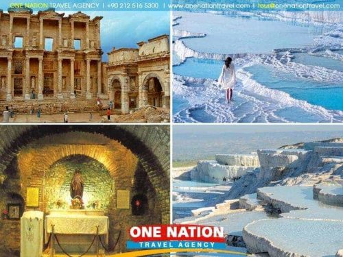 3 Days Ephesus and Pamukkale Tour from Istanbul