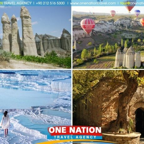 4-Day Cappadocia, Pamukkale and Ephesus Tour from Istanbul by Plane