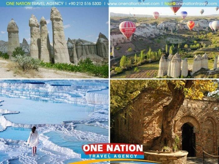 5 Days Cappadocia Pamukkale and Ephesus Tour from Istanbul