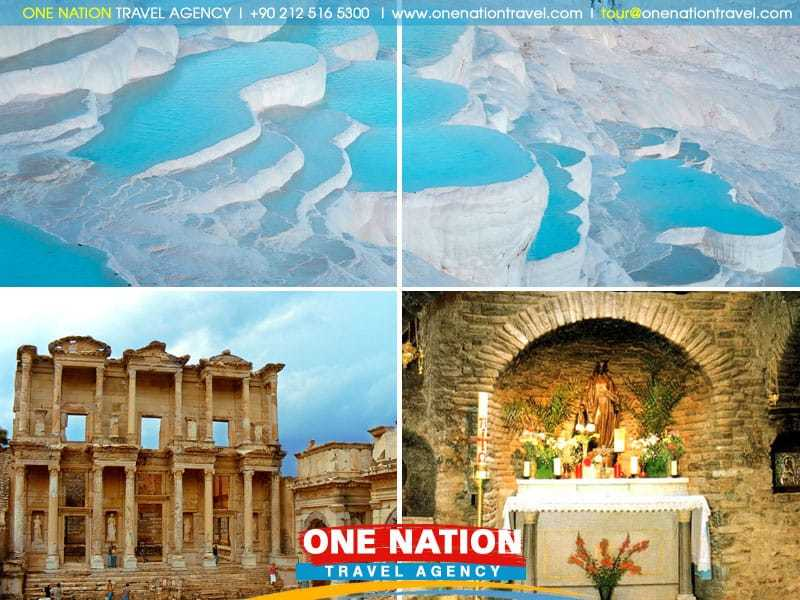 2-Day Ephesus and Pamukkale Tour from Istanbul