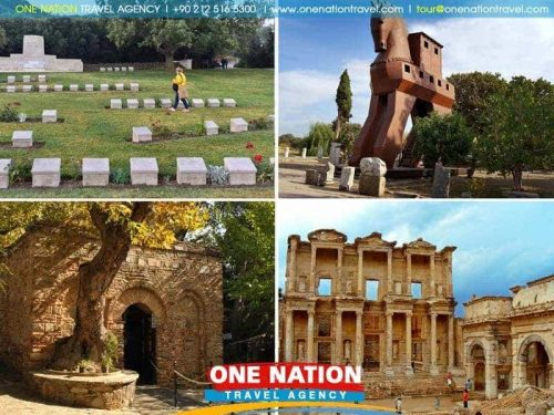 3 days gallipoli troy and ephesus tour from istanbul