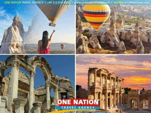 3 Days Cappadocia and Ephesus Tour from Istanbul