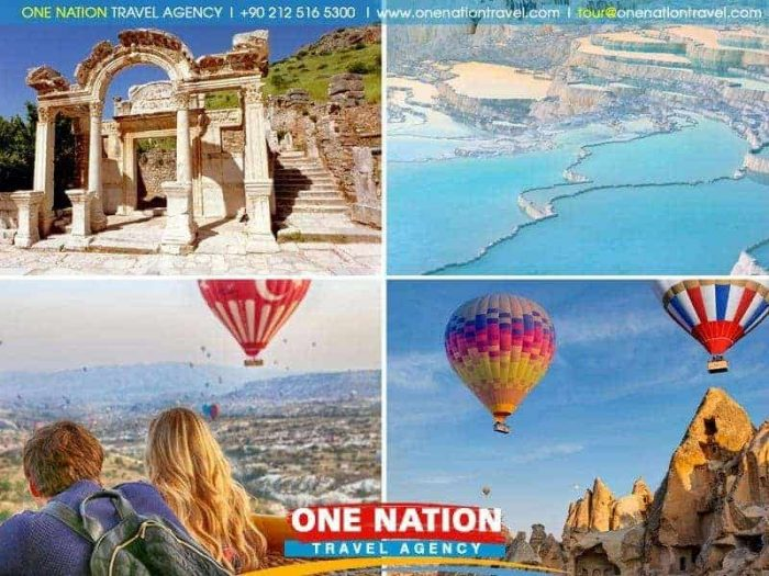 4 Days Cappadocia, Pamukkale and Ephesus Tour
