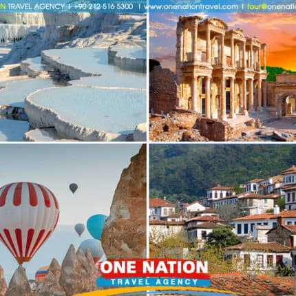 4 Days Turkey Tour from Istanbul: Cappadocia, Pamukkale and Ephesus