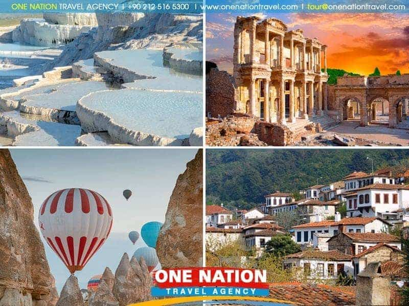 4 Days Turkey Tour from Istanbul: Cappadocia, Pamukkale and Ephesus (Tour starts from Istanbul and ends in Kusadasi or Izmir)