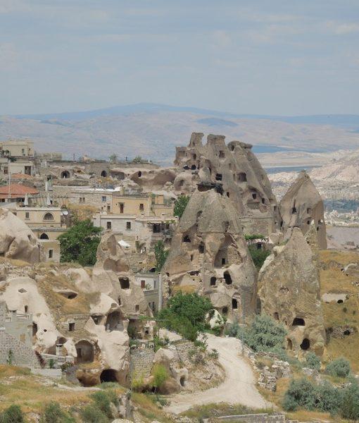 Uçhisar Castle and Village