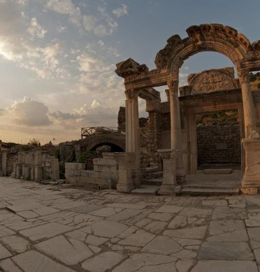 Ancient Hadrian Worship at Ephesus