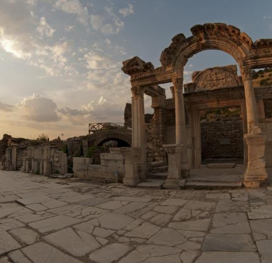 Ancient Hadrian worship-Ephesus
