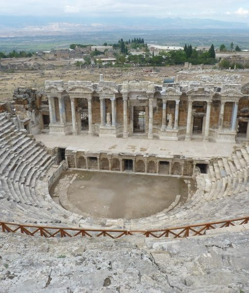 The Roman theatre at Hierapolis