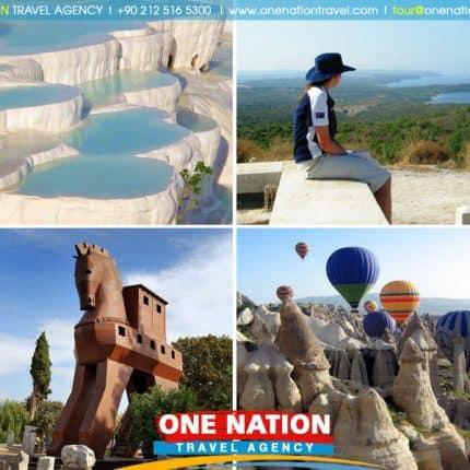 6 Days Gallipoli, Troy, Ephesus, Pamukkale and Cappadocia Tour