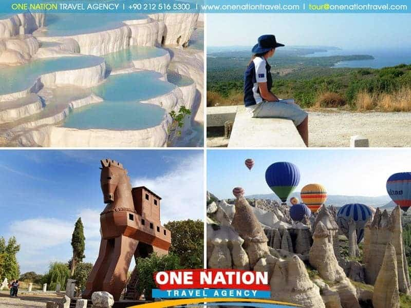 6 Days Gallipoli, Troy, Ephesus, Pamukkale and Cappadocia Tour