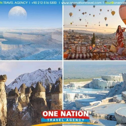 Cappadocia and Pamukkale Tour from Istanbul by Plane