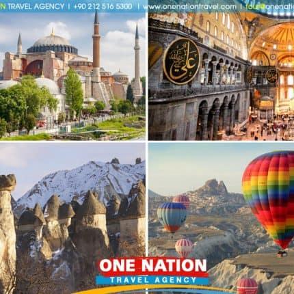 5 Days Istanbul and Cappadocia Tour