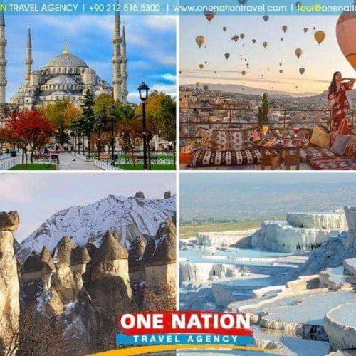 7 Days Istanbul Cappadocia and Pamukkale Tour