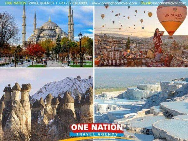 7 Days Istanbul, Cappadocia and Pamukkale Tour