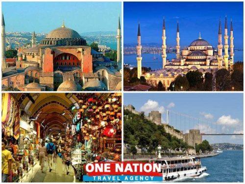 Istanbul Classic and Bosphorus Cruise Combination Tour