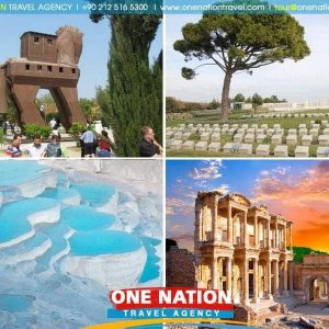 4 Days Gallipoli, Troy, Pamukkale and Ephesus Tour from Istanbul