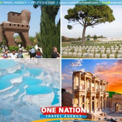 4 Days Gallipoli, Troy, Pamukkale and Ephesus Tour from Istanbul