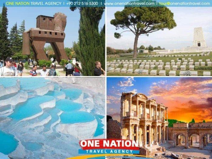 4 Days Gallipoli Troy Pamukkale and Ephesus Tour from Istanbul