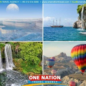 7 Days Cappadocia Pamukkale and Antalya Tour from Istanbul