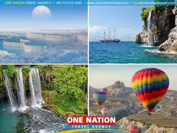 7 Days Cappadocia, Pamukkale and Antalya Tour