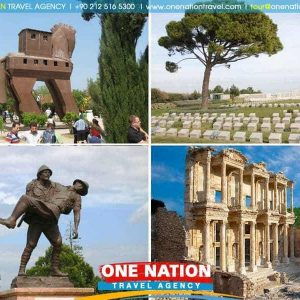3 Days Tour of Gallipoli, Troy & Ephesus (Tour starts from Istanbul and ends in Kusadasi or Izmir)