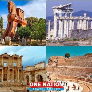 4 Days Troy Pergamum and Ephesus Tour from Istanbul
