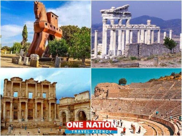 4 Days Troy Pergamum and Ephesus Tour from Istanbul