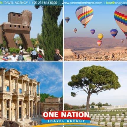 Cappadocia, Pamukkale, Ephesus, Troy and Gallipoli Tour