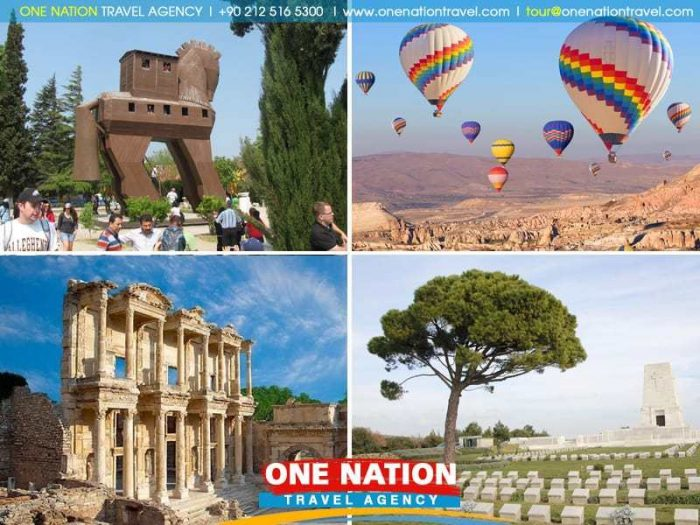 Cappadocia, Pamukkale, Ephesus, Troy and Gallipoli Tour