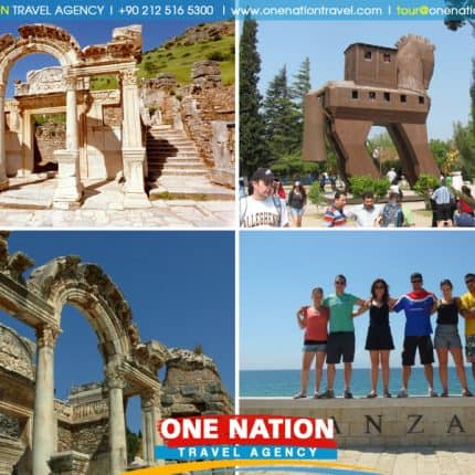 4 Days Troy, Pergamum and Ephesus Tour from Istanbul
