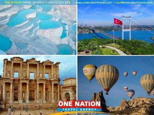 15 Day Istanbul Cappadocia Pamukkale Ephesus and Bodrum Tour
