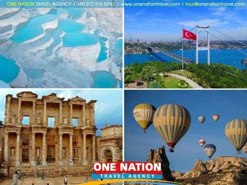 15 Day Istanbul, Cappadocia Pamukkale, Ephesus & Bodrum