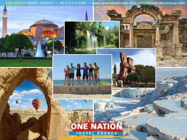 14 Days Istanbul, Cappadocia, Antalya, Pamukkale, Ephesus, Troy & Gallipoli Tour image