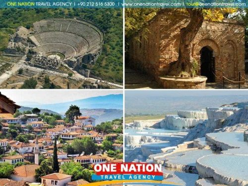 Ephesus and Pamukkale Tour from Istanbul with overnight Bus