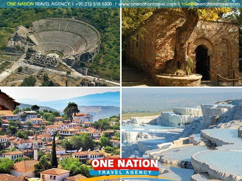Ephesus and Pamukkale Tour from Istanbul by Bus