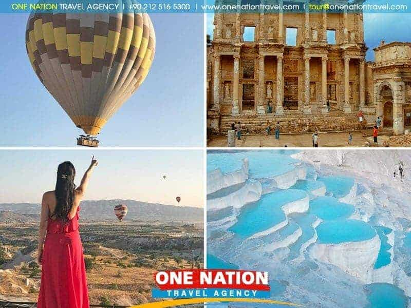 6 Days Cappadocia, Pamukkale and Ephesus Budget Tour from Istanbul by Bus