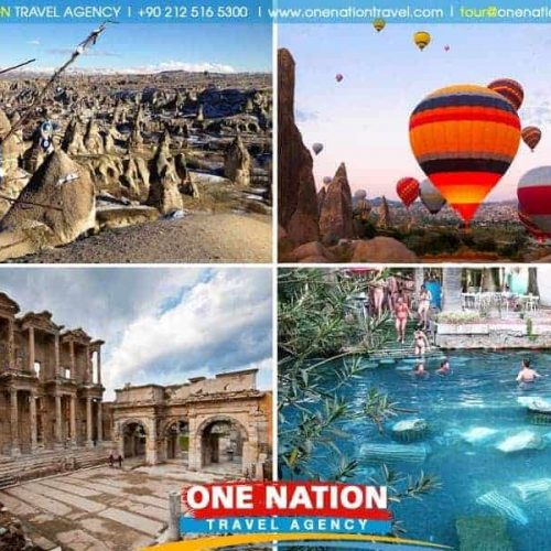 3 Days Pamukkale Ephesus and Cappadocia Tour from Istanbul