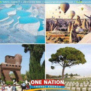 Istanbul, Gallipoli, Troy, Pergamon, Ephesus, Pamukkale & Cappadocia Tour