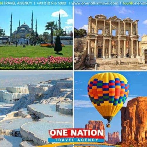 10 Days Istanbul Ephesus Pamukkale Antalya and Cappadocia Tour