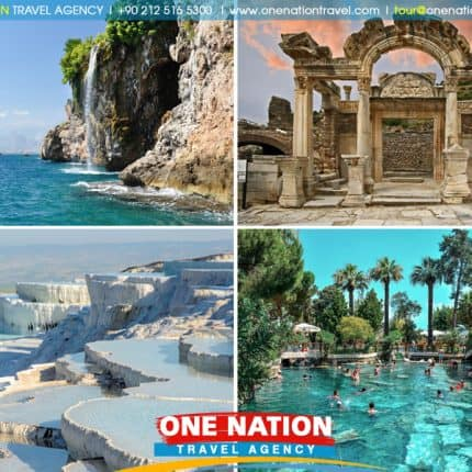 5 Day Tour of Ephesus, Pamukkale and Antalya Image