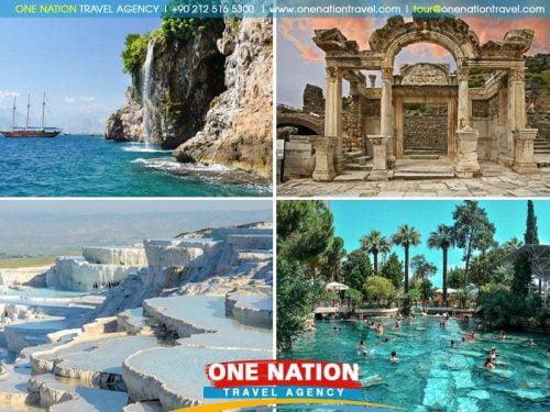 5 Days Ephesus Pamukkale and Antalya Tour