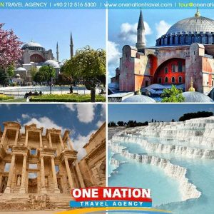 5 Days Istanbul Ephesus and Pamukkale Tour