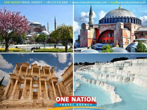 5 Days Istanbul Ephesus and Pamukkale Tour
