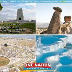 7 Days Gallipoli Troy Pergamum Ephesus Pamukkale Konya and Cappadocia Tour