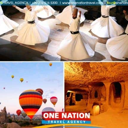 4 Days Cappadocia and Konya Tour