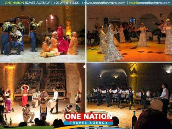Cappadocia Turkish Night Show with Dinner and Drinks