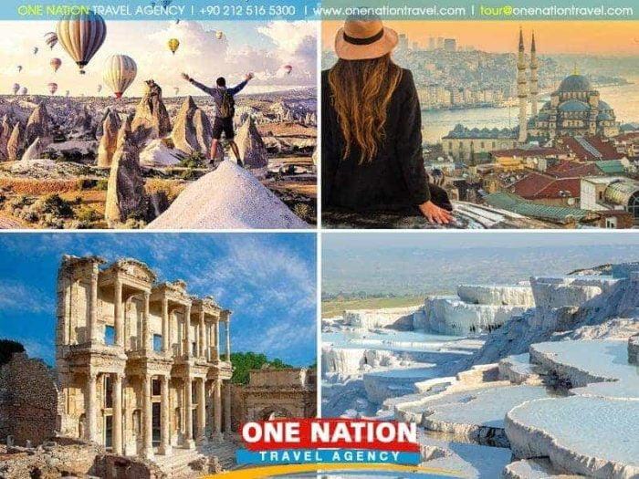 6 Days Istanbul Cappadocia Pamukkale and Ephesus Tour