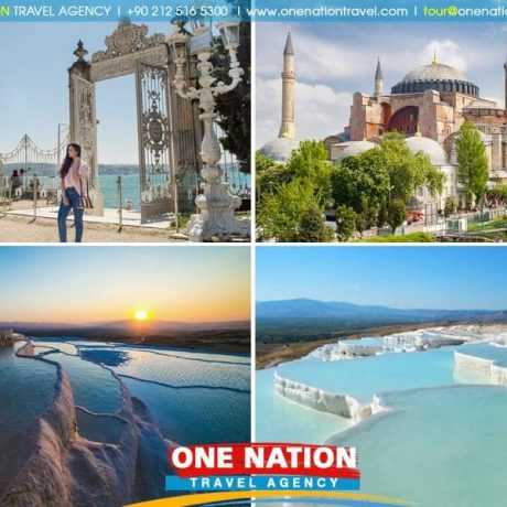 4 Days Istanbul and Pamukkale Tour